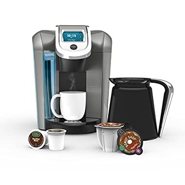 Keurig K560 - Bonus Set Includes 32oz Carafe + 60 K-Cups + 4 K-Carafe Packs + Wa