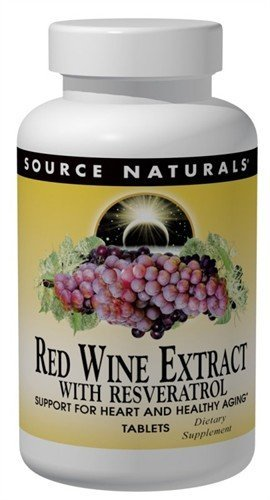 Red Wine Extract With Resveratrol Source Naturals Inc 30 Tabs Discount