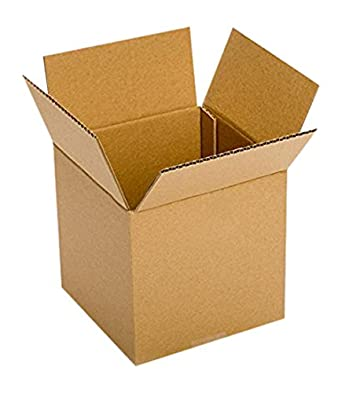 Brown 9 x 9 x 9 Pack of 10 RetailSource BX090909M10 Multi-Depth Corrugated Box