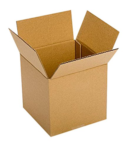 RetailSource BX090909M600 Multi-Depth Corrugated Box, 9'' x 9'' x 9'', Brown (Pack of 600)