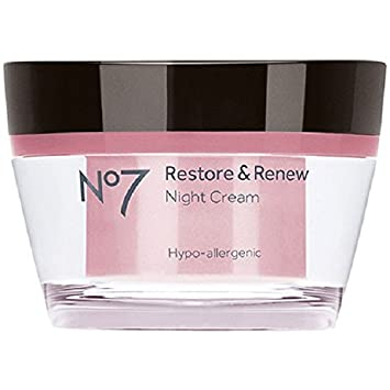 No7 Restore and Renew Night Cream – 1.6 oz