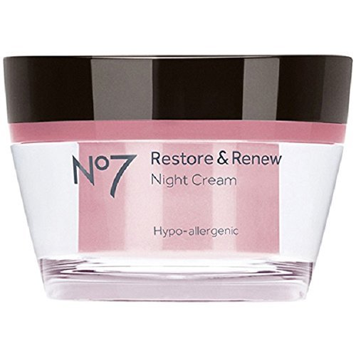 - No7 Restore and Renew Night Cream - 1.6  oz