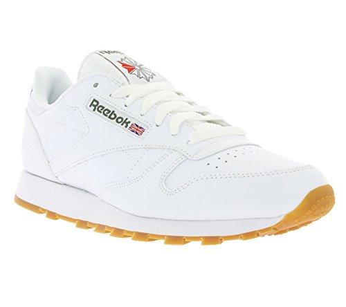 Reebok Classic, Zapatillas de Gimnasia para Niños Weiß
