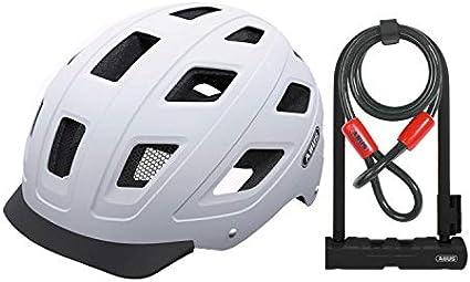 et Ultra 410 u-lock Kit Noir mat, Medium Abus Hyban Urban Casque vélo