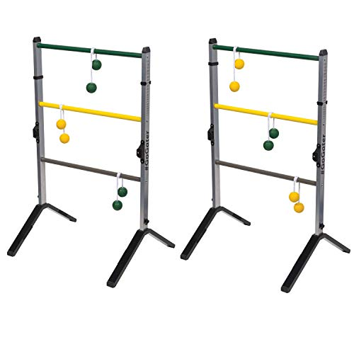 EastPoint Sports Go! Gater Premium Steel Ladderball Set - Features Sturdy Steel Material, Built-in Scoring System, and Complete with All Accessories