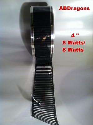 """4"""" Wide / 5 WATTS / 18 Foot Long Flex Watt Heat Tape"""