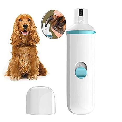 KOBWA Cortaúñas para Perros,Mascota Uña Amoladora Recortador Eléctrico Ultra Silencioso para Gatos Pequeños/Medianos/Grandes Perros Cuidado de Garras para ...