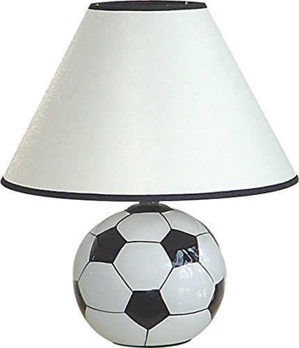 SINTECHNO S-604SC Soccer Ceramic Table Lamp by SINTECHNO