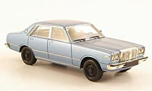 Datsun 200L Laurel (C230), azul metálico , Modelo de Auto, modello completo, Neo 1:43
