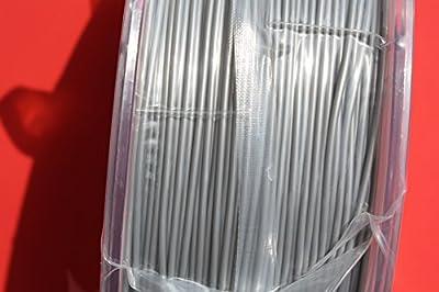 eSUN ABS+, ABS Pro, ABS Plus, Silver 3mm 3D Printer filament 1kg Spool (2.2lbs)