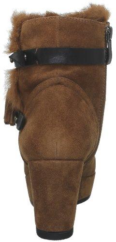 Tabac Femme Pourpre Boots 00460v Couleur Velours vXqS8Z