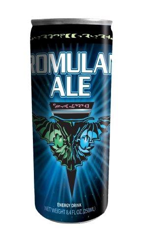 Star Trek Romulan Ale Energy Drink