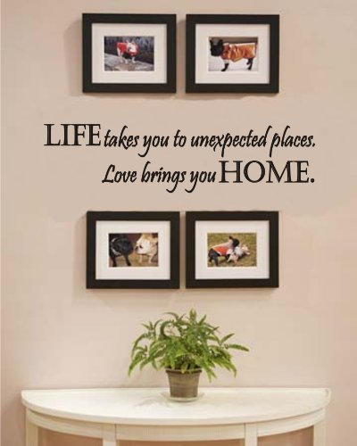 wall decals fireplace - 5