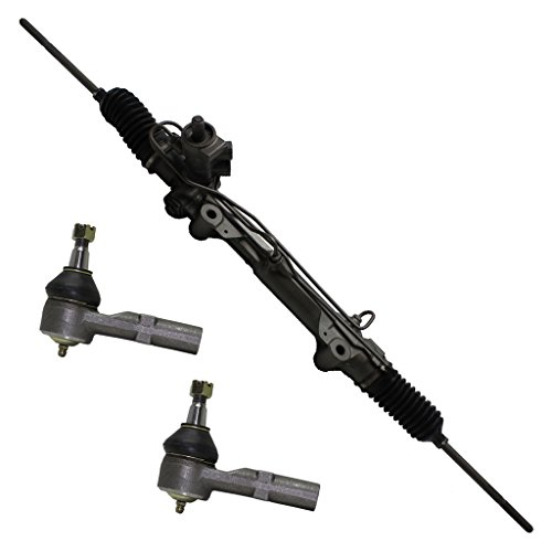 Detroit Axle Complete Power Steering Rack & Pinion Assembly + All 4 Inner & Outer Tie Rod Ends - 1999-2007 Ford Taurus ex.SHO - [1999-2005 Mercury - Sho New Taurus Ford