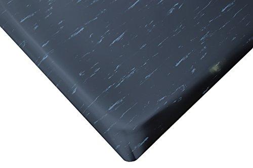 Tile Top Anti Fatigue Mat - Rhino Mats TT-R24DSB/WX4 Marbleized Tile Top, Anti-Fatigue Mat, 2' x 4' x 7/8