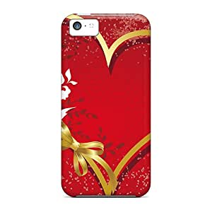 New Style Johnmarkpl Hard Case Cover For Iphone 5c- Love