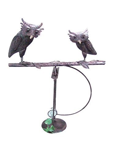 Green Pastures Wholesale Tin Owl Balance Toy, ()