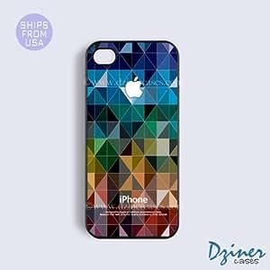 iPhone 6 Plus Tough Case - 5.5 inch model - Arlequin Geometric Pattern iPhone Cover