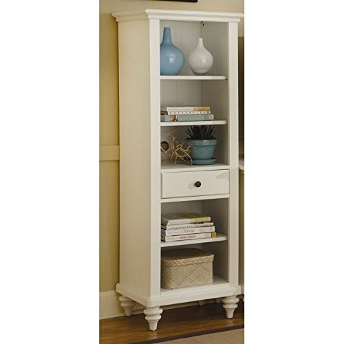 ermuda Pier Cabinet, Brushed White Finish ()