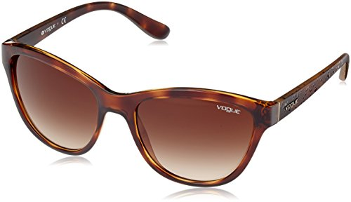 VOGUE Women's Injected Woman 0vo2993s Cateye Sunglasses, Dark Havana, 57 - Vogue Cateye Eyewear