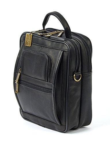 ltimate Manbag Extra Large Shoulder Bag Black One Size ()