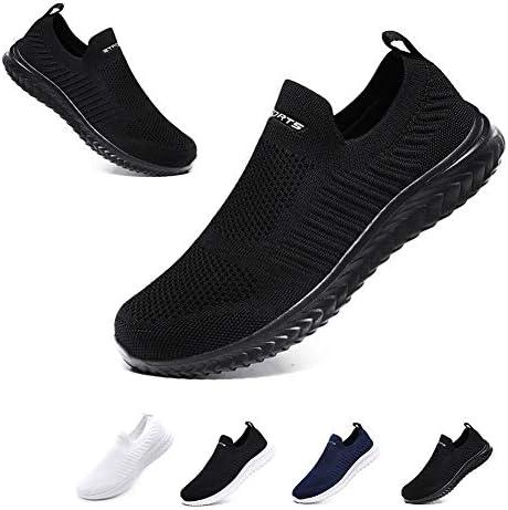 [Hanani] スニーカーメンズレディースナースシューズスポーツシューズスリッポンウォーキングシューズカジュアルシューズカップル靴婦人靴超軽量通気滑り止男女兼用高齢者22.5cm-28.0cm