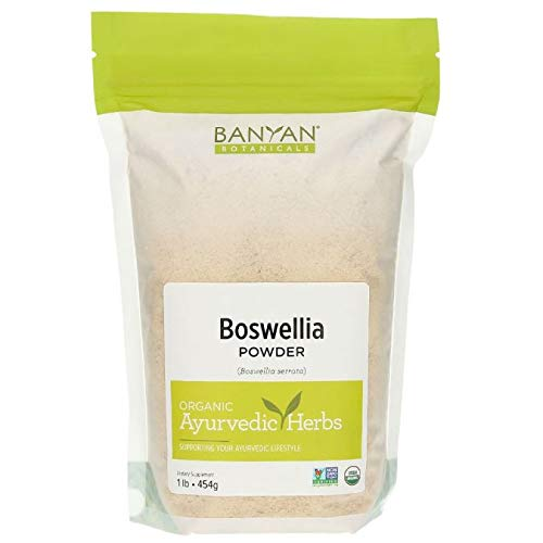 Banyan Botanicals Boswellia Powder - USDA Organic, 1 lb - Boswellia serrata - Indian Frankincense - Soothing Herbal Resin for Joint Pain*