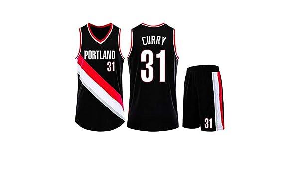 HS-QIAN1 31# Seth Curry Portland Trail Blazers Conjunto De ...
