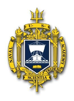 US Navy Naval Academy Decal Sticker (Naval Aircrew Wings)
