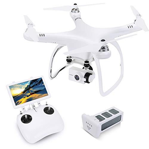 UPAIR One Drone 2.7K with 7 inch Screen, Quadcopter Drone...