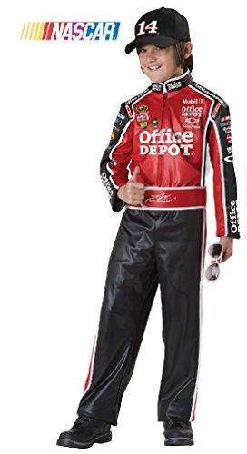 [Fancy NASCAR Tony Stewart Car Racer Child Costume] (Nascar Tony Stewart Costumes)