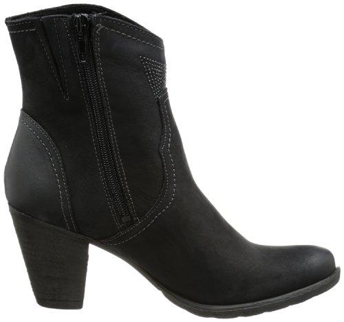 Tamaris TAMARIS 1-1-25703-21 Damen Cowboy Stiefel Schwarz (Black 001)