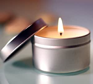 Therepe Scented Soy Tin Candles 5 oz (Gardenia)