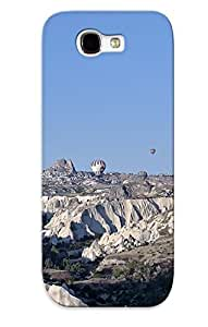 Awesome Design Balloon Sky Aerostat Canyon Flight Nature Hard Case Cover For Galaxy Note 2(gift For Lovers)