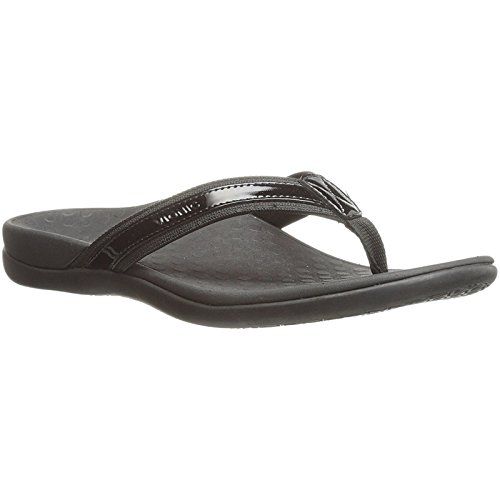 (Vionic Women's Tide II, Black, 8 M)