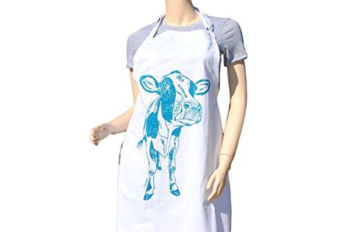 Kitchen Apron - Cow Apron - Animal Apron - Large Apron - Apron for Women or Men