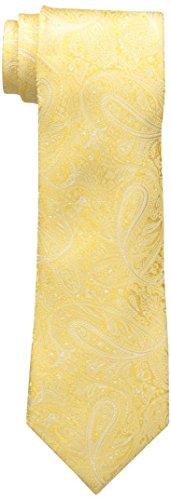 Yellow Paisley Tie - 5