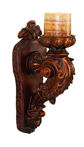 Deco 79 73350 Candle Sconce, 13'' by 5'' by Deco 79