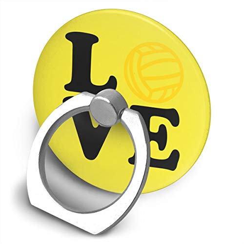 (Yuotry 360 Degree Rotating Ring Stand Grip Mounts Tennis Love Universal Phone Ring Bracket Holder Smartphone Ring)