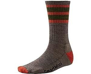 Smartwool–Calcetines de rayas de caminata calcetines de luz tamaño: Md (Hombre Zapatos 6–8,5) Color: Taupe/moab óxido, Modelo: sw0sw141270, Tools & hardware Store