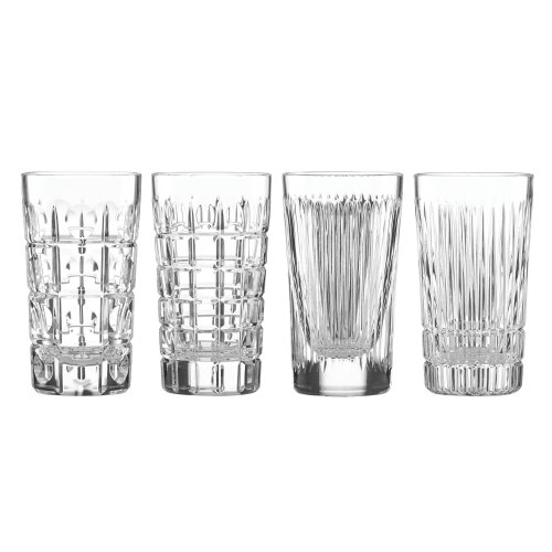 Reed & Barton, Thomas O'Brien New Vintage HiBall Glasses set of 4 - Thomas Barware Obrien