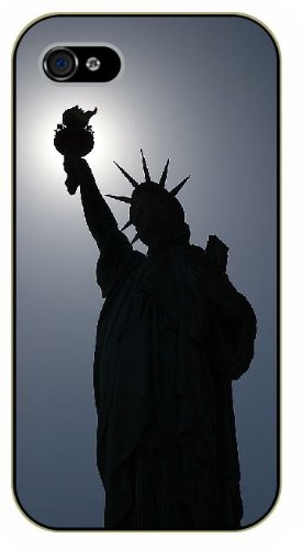 iPhone 6 New York Statue of Liberty - black plastic case / Nature, Animals, Places Series