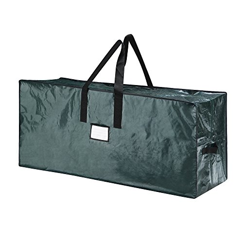 Elf Stor 83-DT5513 5066 Christmas Bag-Large, for a 7.5 Foot Artificial Tree in Green-Easy Holiday Décor Storage
