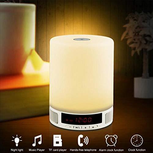 Clearance Sale!DEESEE(TM)Creative Wireless Speaker Smart Stereo Music Led -