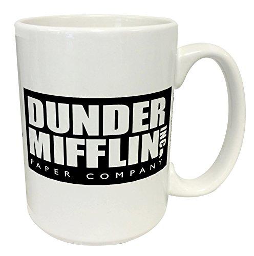 Dunder Mifflin (The Office) World's Best Boss TV Television Show 15 Oz Mug