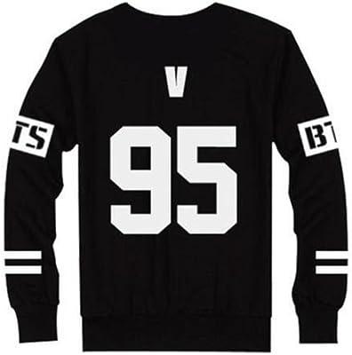 mainlead BTS Bangtan Boys Sweater Pullover Love Yourself Kpop Women Turtleneck Hoodie Sweatshirt Streetwear Hip-Hop