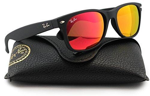 Ray-Ban RB2132 Large New Wayfarer Sunglasses Matte Black
