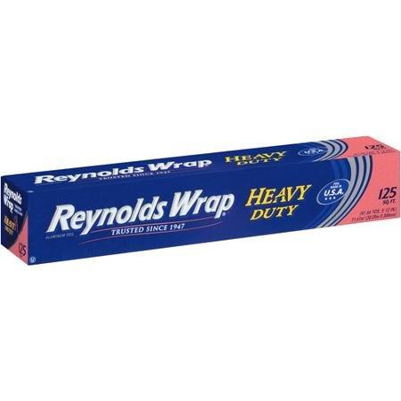 Reynolds Wrap Heavy Duty Aluminum Foil, 125 sq ft
