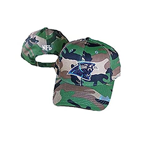 fd5bbec9c ... low cost carolina panthers velcro adjustable osfa green camouflage hat  camo cap salute service support the