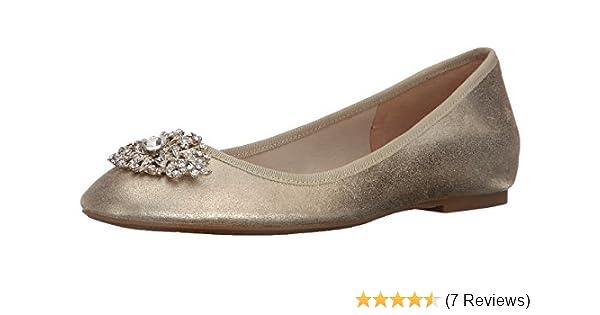 8891d536e Amazon.com: Badgley Mischka Women's Abella II Ballet Flat: Shoes